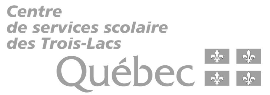Centre de services scolaire des Trois-Lacs